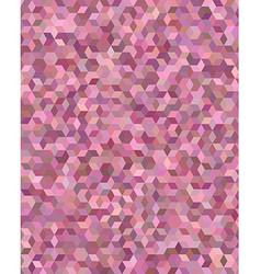 Color 3d cube mosaic background design vector