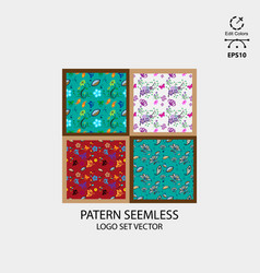 pattern seemless pack vector image