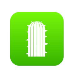 Plant of desert icon digital green vector