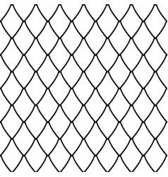 seamless net pattern vector image