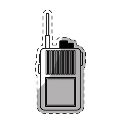 Walkie talkie icon image vector