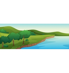 River vector image