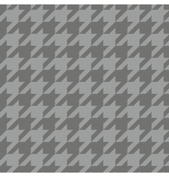 Tile tartan plaid grey houndstooth background vector