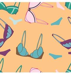 Underwear send pattern vector