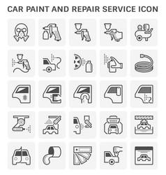 Car paint icon vector
