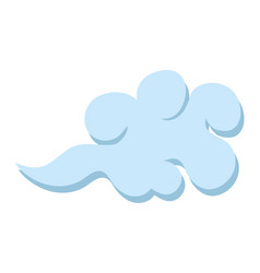 clouds chinese style vector image
