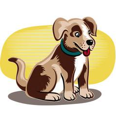 Little dog vector