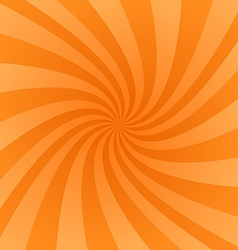 Orange swirl design background vector