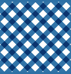 Pastel blue color square check pattern vector