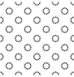 Preloader pattern simple style vector