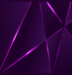 premium background with luxury polygonal pattern vector image