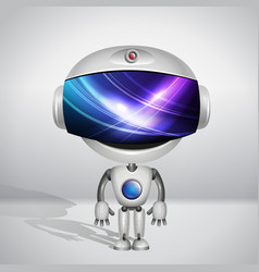 Robot super Bill vector