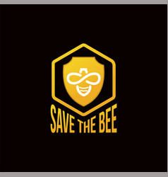 Save bee vector