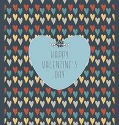 Valentines pattern vector
