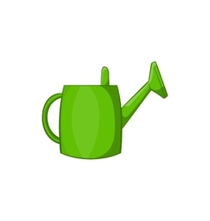 Watering can for garden icon cartoon style vector image