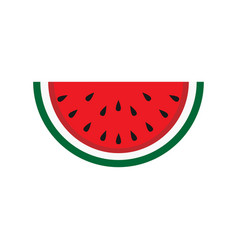 Watermelon tasty vegetarian dessert nature vector