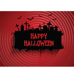 halloween background 2509 vector image vector image
