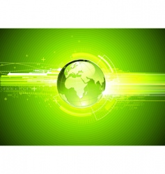 Hi-tech background vector image vector image