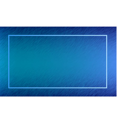 Blue abstract frame design vector
