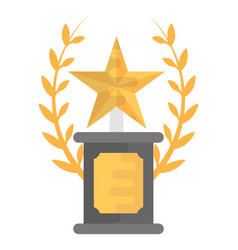Champion trophy vector