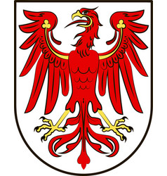 Coat of arms of brandenburg germany vector