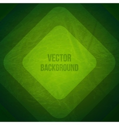 Geometric Background Grunge Background with green vector image