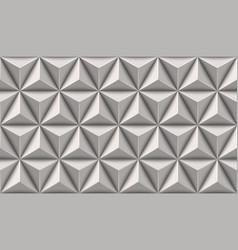 Geometric triangle pattern vector