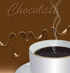 Hot drink vector