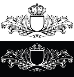 One Color King Design vector image