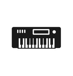 piano icon design template vector image