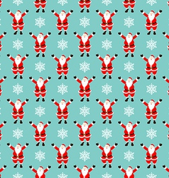 Santa Pattern vector image