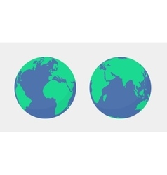 World planet Earth globe icon isolated vector image