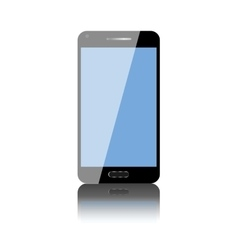 touch screen mobile phone vector image
