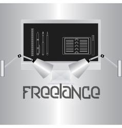 Freelance vector image