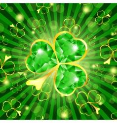 Saint Patrick's holiday vector image vector image