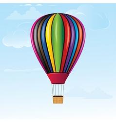 hotair balloon vector image