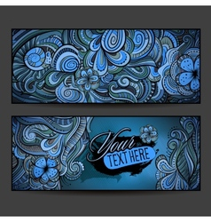 Abstract decorative ethnic ornamental backgrounds vector