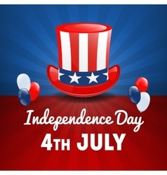 American independence day 4th july usa holiday vector