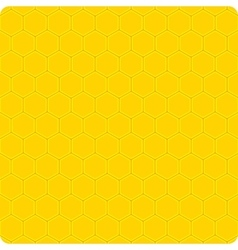 Background yellow cell vector image vector image