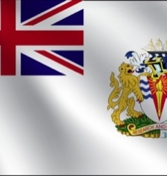 British Antarctic Territory flag vector