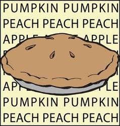 Fruit Pie vector