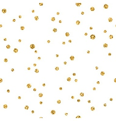 Gold small circle chaotic on white 1 vector