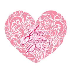 Heart ornament 2 380 vector