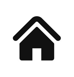 home icon in modern design style for web site and vector image