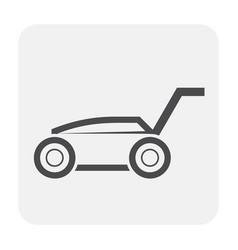 lawn mower icon vector image