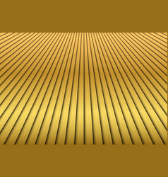 abstract golden diagonal stripes background vector image