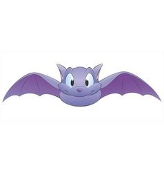 cartoon bat vector image