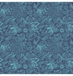 Indian Paisley Pattern vector image vector image