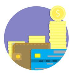 annual profit icon vector image