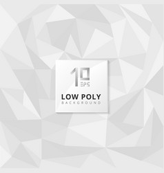 abstract low poly texture gray triangles shape vector image